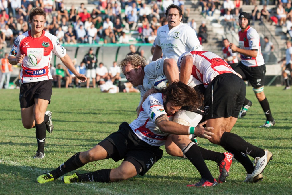 Rugby Roma Olimpic placcaggio