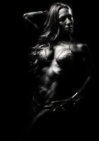 Sabrina Santamaria bianco e nero