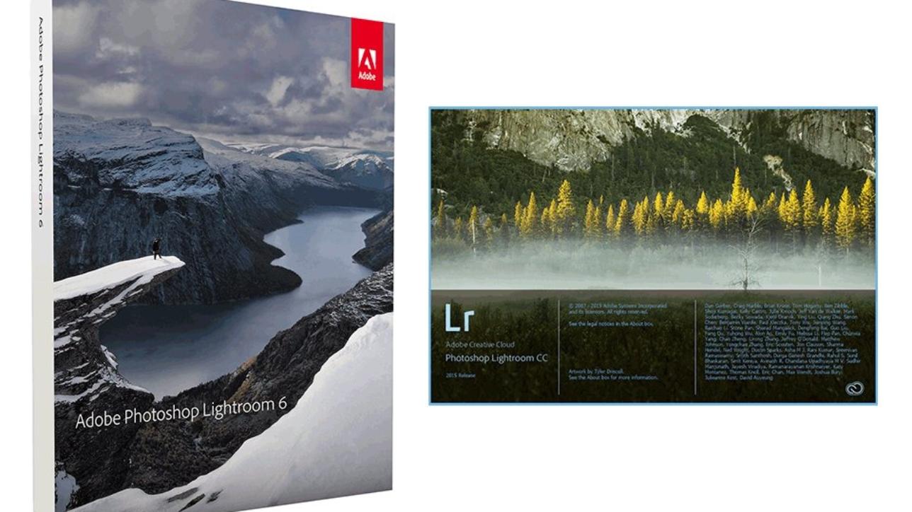 Adobe Photoshop Lightroom 6 e Lightroom CC