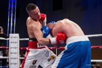 Manuel Lancia colpisce al corpo l'avversario