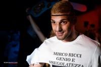 Mirco Ricci fa la sua entrata sul ring