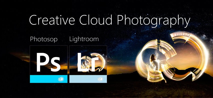 creative cloud fotografia