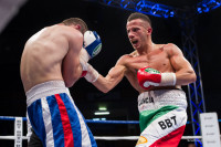 Manuel Lancia sul ring contro Tortladze