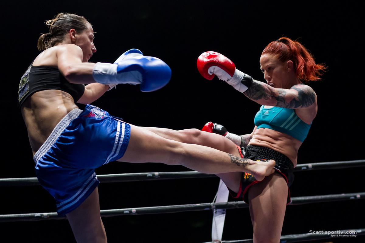 K1, Paola Cappucci contro Irene Martens a Invictus Arena 6