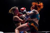 K1, Irene Martens colpisce con il montante Paola Cappucci