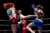 Paola Cappucci colpisce Irene Martens a Invictus Arena 6
