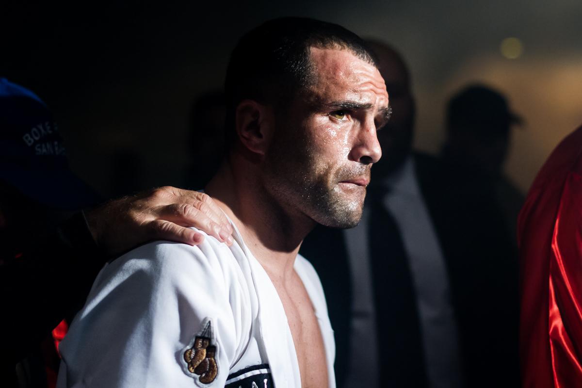 Boxe: Daniele Petrucci entra al Pala Mandela di Firenze prima di affrontare Leonard Bundu