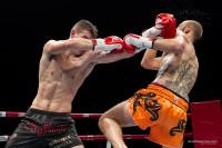 Gabriele Casella in azione sul ring